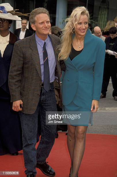 Sally Kirkland and Eric Douglas during The 7th Annual IFP/West Independent Spirit Awards at Raleigh Studios in Hollywood California United States