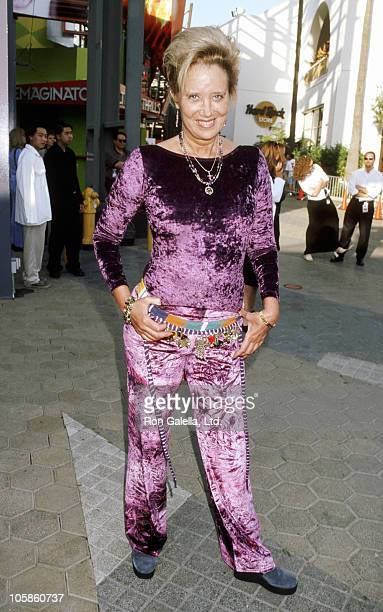 Sally Kirkland during American Pie West Coast Premiere at Cineplex Odeon Universal Studios Cinema in Universal City California United States