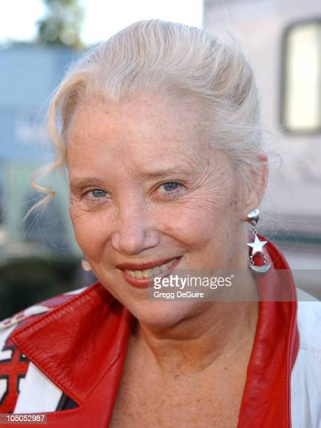 Sally Kirkland during Love Ride 19 at Glendale Harley Davidson in Glendale California United States