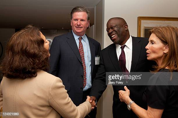 Sally KovlerThe American Way President Michael B Keegan Les Coney Andrew Gillum and Barbara BluhmKaul attend the 30th Anniversary of People For The...