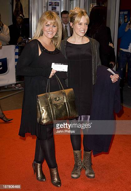 Sally Lindsay And Beth Cordingly Arriving To 'The Shouting Men' Premiere At At The Odeon West End Leicester Square London