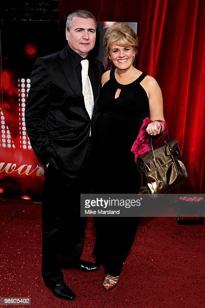 Sally Lindsay and Steve White attends the British Soap Awards at The London Television Centre on May 8 2010 in London England