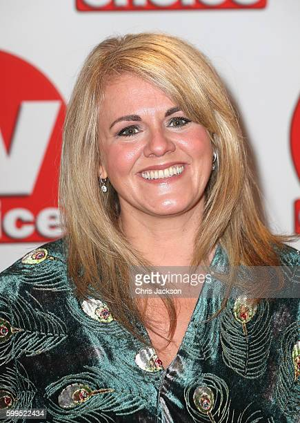 Sally Lindsay arrives for the TV Choice Awards at The Dorchester on September 5 2016 in London England