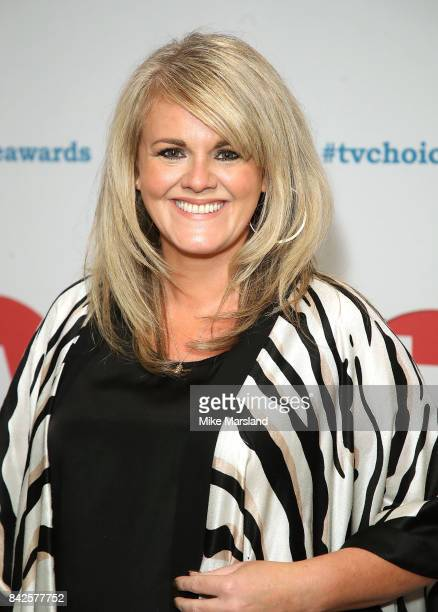 Sally Lindsay arrives for the TV Choice Awards at The Dorchester on September 4 2017 in London England