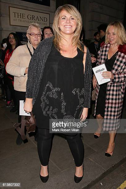 Sally Lindsay attending the Attitude magazine awards on October 10 2016 in London England