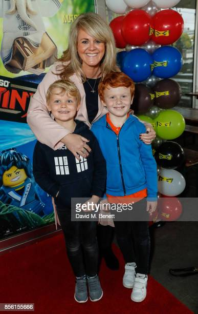 Sally Lindsay attends a multimedia screening of 'The LEGO Ninjago Movie' at BFI Southbank on September 30 2017 in London England