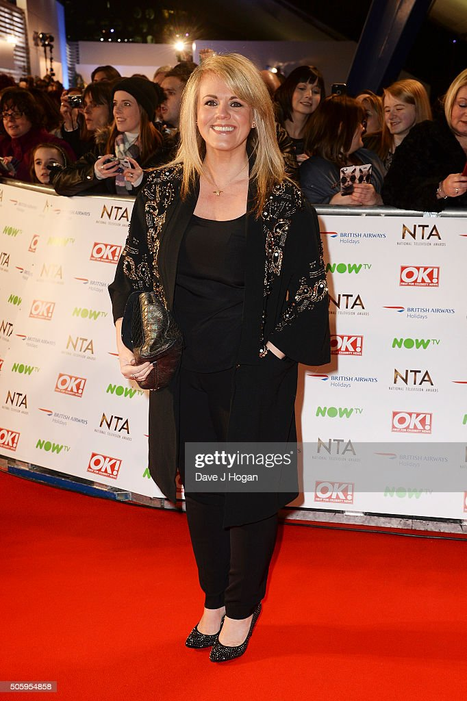 Sally Lindsay attends the 21st National Television Awards at The O2 Arena on January 20, 2016 in London, England.