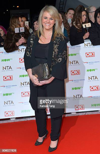 Sally Lindsay attends the 21st National Television Awards at The O2 Arena on January 20 2016 in London England