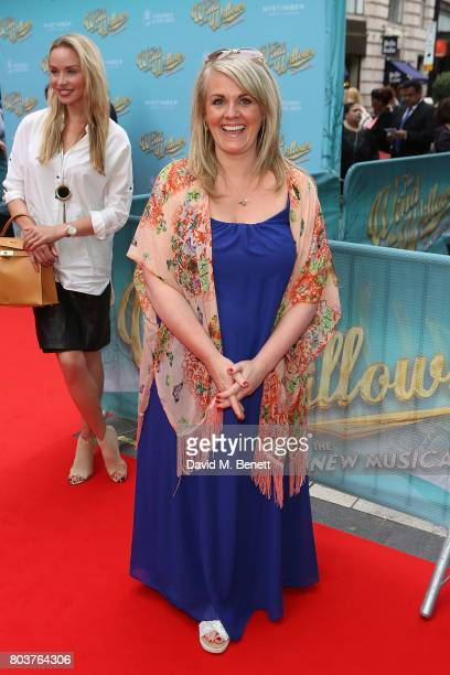 Sally Lindsay attends the press night performance of 'The Wind In The Willows' at the London Palladium on June 29 2017 in London England