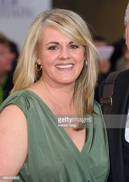 Sally Lindsay attends the Pride of Britain awards at The Grosvenor House Hotel on September 28 2015 in London England