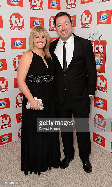 Sally Lindsay attends the TV Choice Awards 2013 at The Dorchester on September 9 2013 in London England