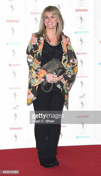 Sally Lindsay attends the Women of the Year lunch and awards at InterContinental Park Lane Hotel on October 19 2015 in London England