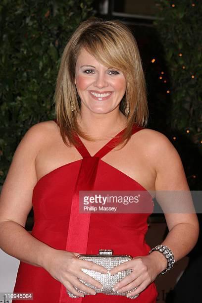 Sally Lindsay during Irish Film and Television Awards 2005 Red Carpet at Royal Dublin Society in Dublin Ireland