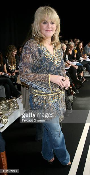 Sally Lindsay during Tu for Sainsbury's Fashion Show at Mary Ward House at Mary Ward House in London Great Britain