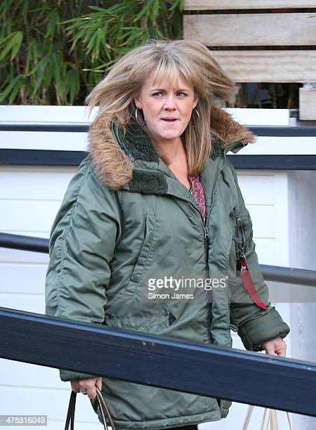 Sally Lindsay sighting on February 27 2014 in London England