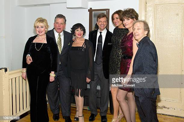 Sally Mayes Billy Stitche Chita Rivera Jim Caruso Countess LuAnn de Lesseps Lucie Arnaz and Scott Siegel attend The Best of Jim Caruso's Cast Party...