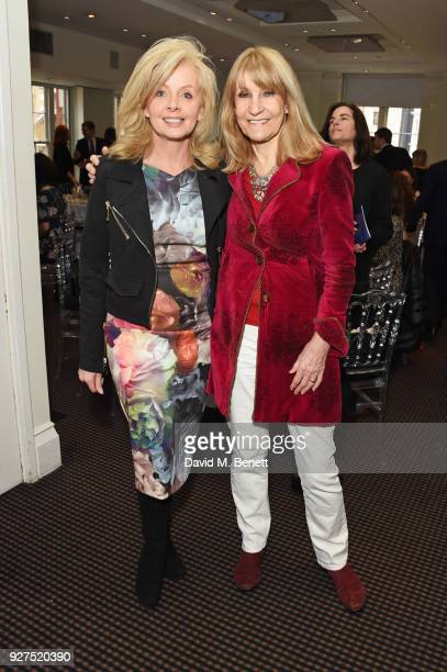 Sally Meen and Lynn Faulds Wood attend Turn The Tables 2018 hosted by Tania Bryer and James Landale in aid of Cancer Research UK at BAFTA on March 5...
