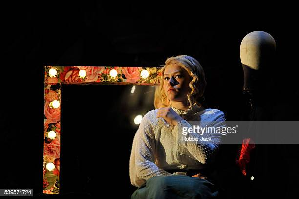 Sally Messham as Nancy in Sarah Waters Tipping the Velvet adapted by Laura Wade and directed by Lyndsey Turner at the Lyric Theatre in Hammersmith...