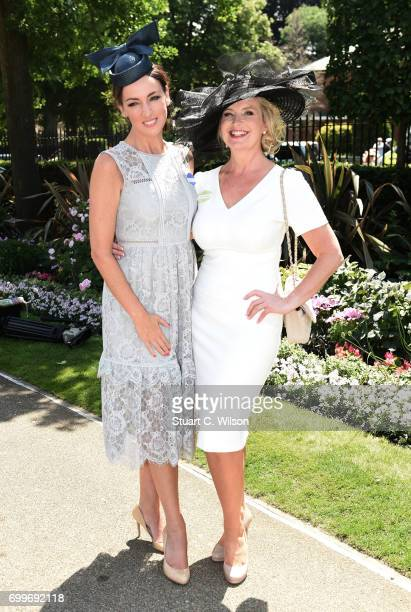 Sally Nugent and Carol Kirkwood attend Royal Ascot 2017 at Ascot Racecourse on June 22 2017 in Ascot England