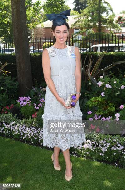 Sally Nugent attends Royal Ascot 2017 at Ascot Racecourse on June 22 2017 in Ascot England