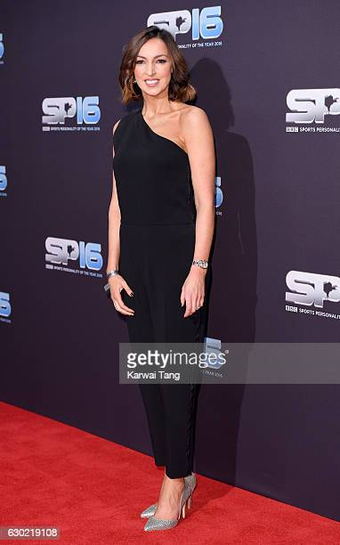 Sally Nugent attends the BBC Sports Personality Of The Year at Resorts World on December 18 2016 in Birmingham United Kingdom