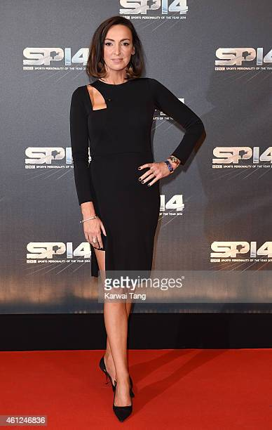 Sally Nugent attends the BBC Sports Personality of the Year awards at The Hydro on December 14 2014 in Glasgow Scotland