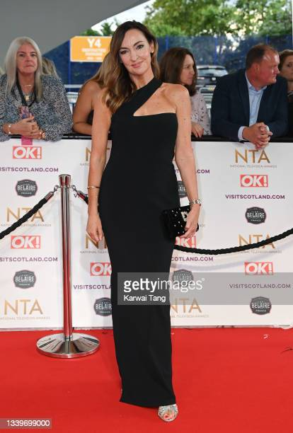Sally Nugent attends the National Television Awards 2021 at The O2 Arena on September 09, 2021 in London, England.