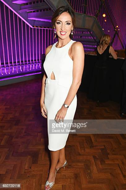 Sally Nugent attends the National Television Awards cocktail reception at The O2 Arena on January 25, 2017 in London, England.