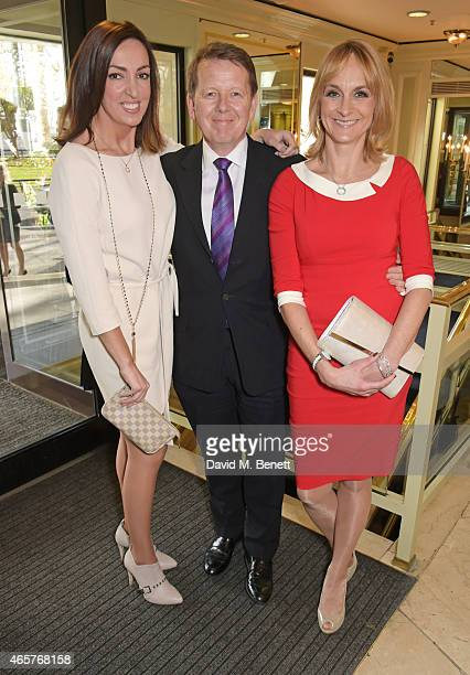 Sally Nugent, Bill Turnbull and Louise Minchin attend the TRIC Television and Radio Industries Club Awards at The Grosvenor House Hotel on March 10,...