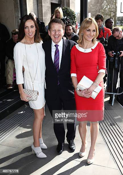 Sally Nugent Bill Turnbull and Louise Minchin attend the TRIC Awards on March 10 2015 in London England