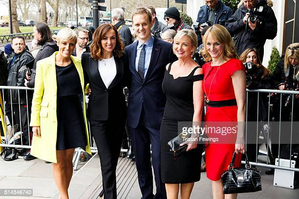 Sally Nugent Carol Kirkwood Dan Walker Louise Minchin and Stephanie McGovern attend the TRIC Awards at Grosvenor House Hotel at The Grosvenor House...