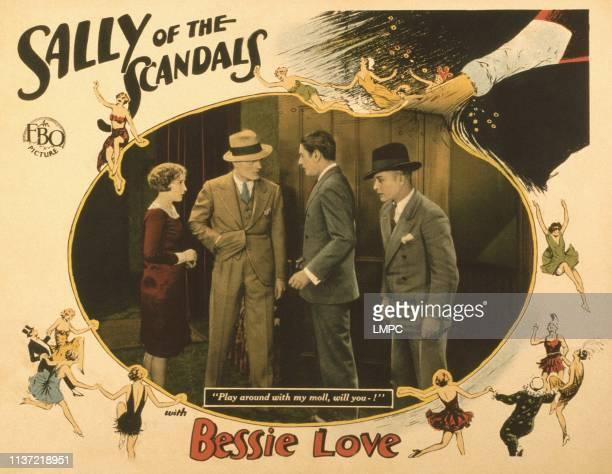 Sally Of The Scandals US lobbycard Bessie Love Allan Forrest 1928