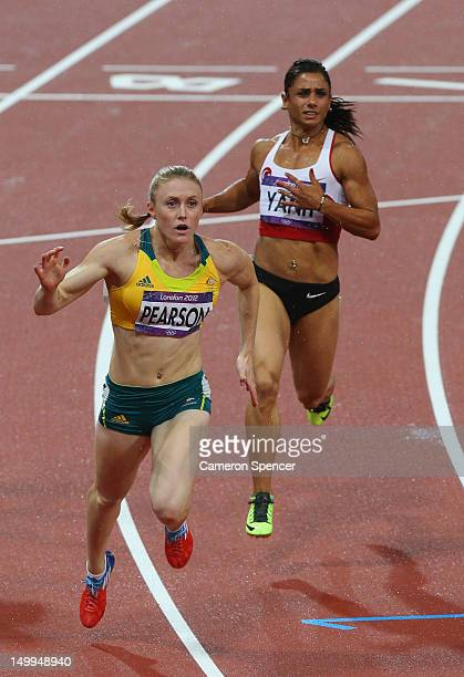 Sally Pearson of Australia wins gold in the Women's 100m Hurdles Final on Day 11 of the London 2012 Olympic Games at Olympic Stadium on August 7 2012...