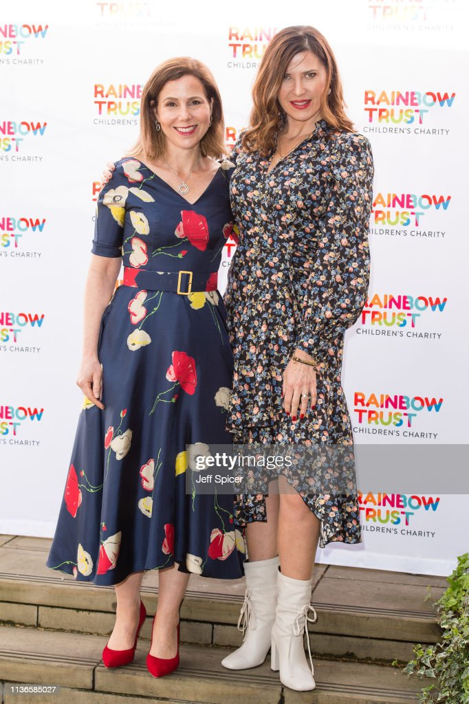 GBR: 'Trust in Fashion' Rainbow Trust Fundraiser - Photocall
