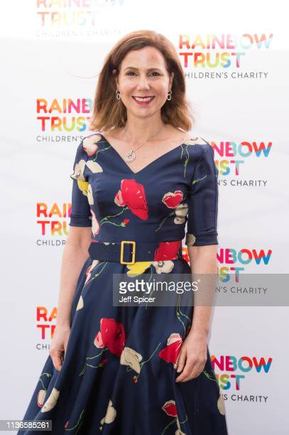 Sally Phillips attends the 'Trust in Fashion' Rainbow Trust Fundraiser at Grosvenor House on March 18 2019 in London England