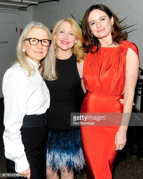 Sally Potter Patricia Clarkson and Emily Mortimer attend Roadside Attractions and Great Point Media with The Cinema Society host the after party for...