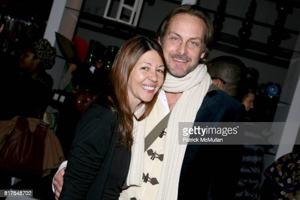 Sally Randall Brunger and Andrew Brunger attend 8th Annual BoCONCEPT/KOLDESIGN Holiday Party at Bo Concept Madison Ave on December 14th 2010 in New...