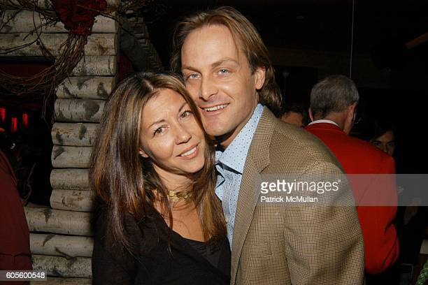 Sally Randall Brunger and Andrew Brunger attend A Valentines Day Dinner for KISS KISS A New Book of Photo's by Patrick McMullan at Pre Post...