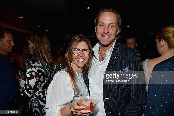 Sally Randall Brunger and Andrew Brunger attend Andrea Greeven Douzet's Birthday Celebration at The Tuck Room on October 19 2016 in New York City