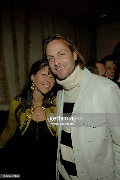 Sally Randall Brunger and Andrew Brunger attend ASPEN Party Hosted by PINK VODKA at Aspen on January 24 2007 in New York City
