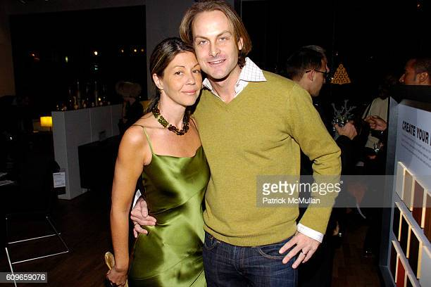 Sally Randall Brunger and Andrew Brunger attend KolDesign/BoConcept 5th Annual Holiday Party at BoConcept on December 11 2007 in New York City