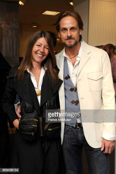 Sally Randall Brunger and Andrew Brunger attend LORD TAYLOR Celebrates Fashion's Night Out at Lord Taylor on September 10 2009 in New York