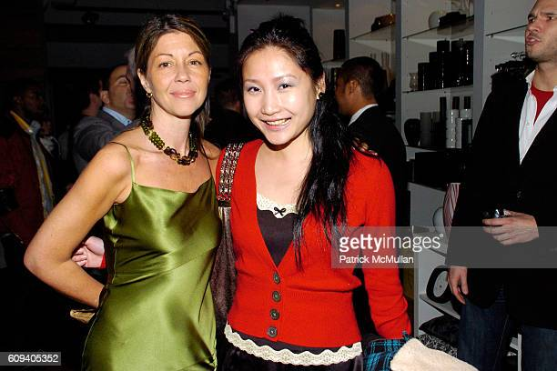 Sally Randall Brunger and Lucy Sun attend KolDesign/BoConcept 5th Annual Holiday Party at BoConcept on December 11 2007 in New York City