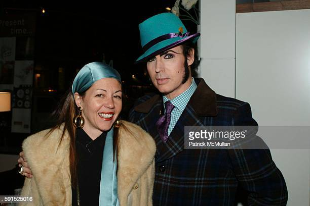 Sally Randall Brunger and Patrick McDonald attend BoConcept KolDesign Hoilday Party at BoConcept on December 14 2005 in New York City