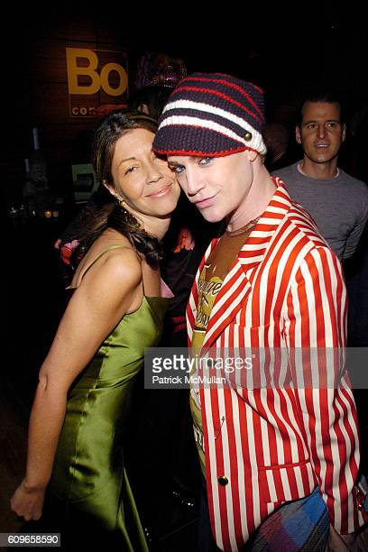 Sally Randall Brunger and Richie Rich attend KolDesign/BoConcept 5th Annual Holiday Party at BoConcept on December 11 2007 in New York City