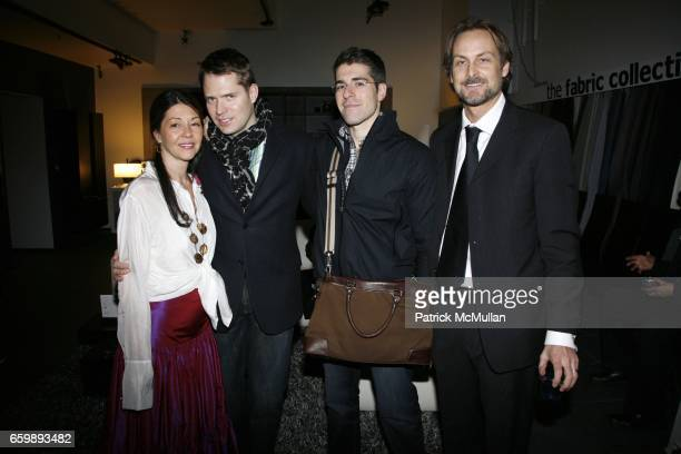 Sally Randall Brunger Lincoln Palsgrove IV Zak Profera and Andrew Brunger attend 7th Annual BoCONCEPT/KOLDESIGN Holiday Party at Bo Concept Madison...