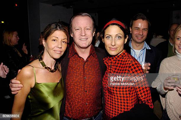 Sally Randall Brunger Patrick McMullan and Lisa Edelstein attend KolDesign/BoConcept 5th Annual Holiday Party at BoConcept on December 11 2007 in New...