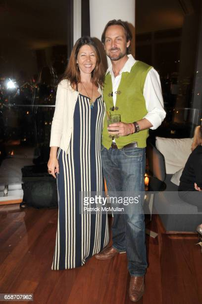 Sally RandallBrunger and Andrew RandallBrunger attend RICHIE RICH Hosts CHRIS COFFEE's Birthday Party at the GARDEN IN THE SKY at Cooper Square Hotel...