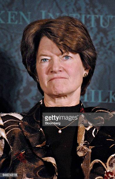 Sally Ride former NASA Astronaut and president and chief executive officer of Sally Ride Science speaks at the Milken Institute Global Conference...