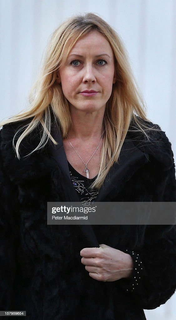 Sally Roberts arrives at The High Court on December 8, 2012 in London, England. A judge will make a ruling on whether a local health authority should give Sally Roberts's seven-year-old son, who has a brain tumour, cancer treatment against her wishes.